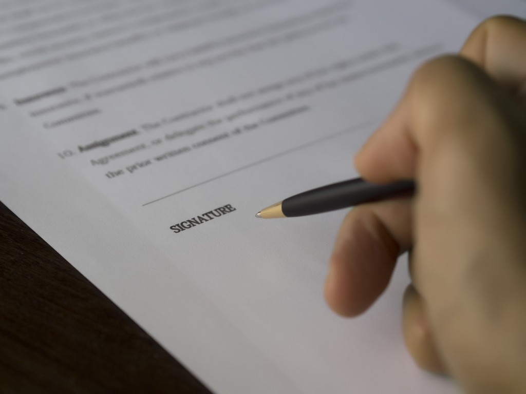 Ensure Legal Documents are signed | Waltham House